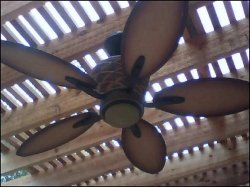 Myrtle Beach Electrician on Using Outside Ceiling Fans