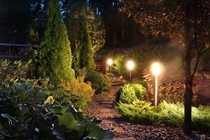 Myrtle Beach Electrician Tips On Landscaping Lighting